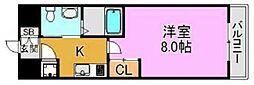 ディナスティ東大阪センターフィールド[8階]の間取り