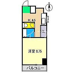 レスポワール[4階]の間取り