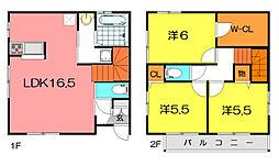 [一戸建] 兵庫県尼崎市尾浜町1丁目 の賃貸【/】の間取り