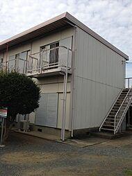茨城県水戸市東野町の賃貸アパートの外観