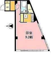 富田ビル[306号室]の間取り