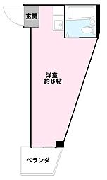 西尾ビル[3階]の間取り