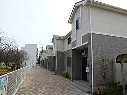 茨城県かすみがうら市稲吉南2丁目の賃貸アパートの外観