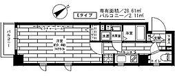 ステージファースト用賀II[2階]の間取り