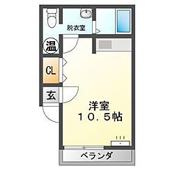 M97[3階]の間取り