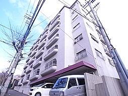 兵庫県神戸市灘区一王山町の賃貸マンションの外観