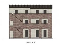 東京都練馬区錦1丁目の賃貸アパートの外観