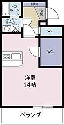 WILL GII[403号室]の間取り
