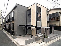 東京都荒川区町屋6丁目の賃貸アパートの外観