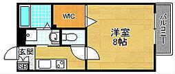コンフォートII[1階]の間取り
