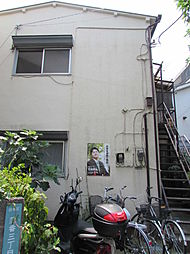 東京都目黒区中央町1丁目の賃貸アパートの外観