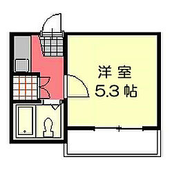 彩光荘[104号室]の間取り