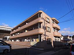 ロンドコーポラス[1階]の外観