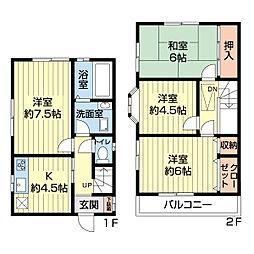実籾駅 7.5万円