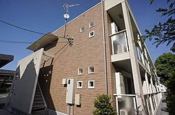 埼玉県春日部市八丁目の賃貸アパートの外観