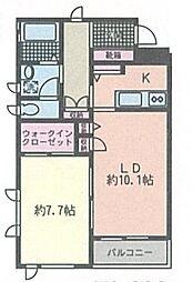 ピエーノ湘南石川[3階]の間取り