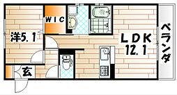 D-K house[1階]の間取り