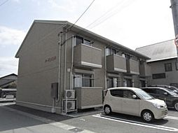 静岡県三島市大宮町3丁目の賃貸アパートの外観
