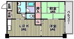 A−HEIGHTS[1階]の間取り