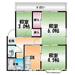 松尾マンション[2階]の間取り