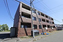 北海道江別市萌えぎ野中央の賃貸マンションの外観