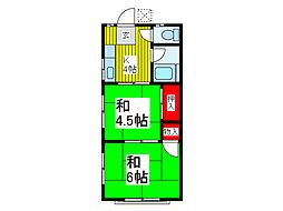 のぼり荘[2階]の間取り