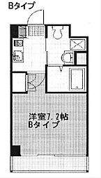 神奈川県横須賀市三春町1丁目の賃貸マンションの間取り