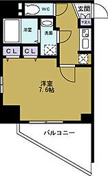 プロシード大阪WESTアドリア[2階]の間取り