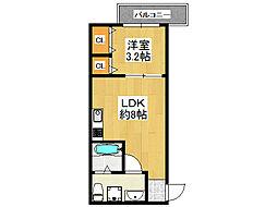 DOAHN SHOUJI[2階]の間取り
