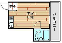 デイズハイツ三先[9階]の間取り