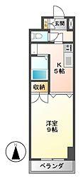 ラヴィアン名駅[6階]の間取り