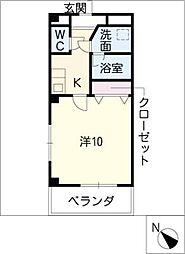 プリミエール21[2階]の間取り