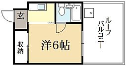 インターバル11[5階]の間取り