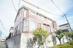 福岡県糟屋郡新宮町大字原上の賃貸アパートの外観
