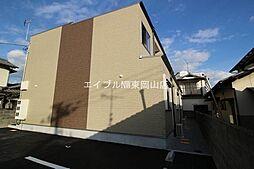 岡山県岡山市中区藤原光町3丁目の賃貸アパートの外観