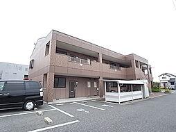兵庫県姫路市網干区田井の賃貸マンションの外観