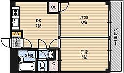 第2高光マンション[5階]の間取り