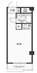 ベル・パークシティ西新宿[203号室]の間取り