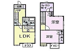 エスポワールハイム[1階]の間取り