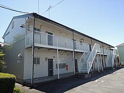 埼玉県北本市二ツ家4丁目の賃貸アパートの外観