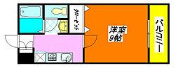 フレンズ24 A棟 201号室[2階]の間取り
