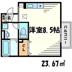 Future Island[2階]の間取り