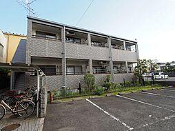 大阪府堺市東区日置荘西町1丁の賃貸アパートの外観