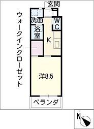 U・TOPIA36[1階]の間取り