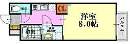 PLEIN SOLEIL 東霞町[2階]の間取り