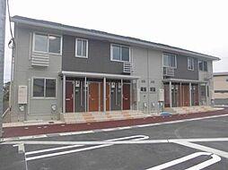 富山県富山市松若町の賃貸アパートの外観