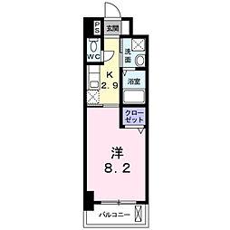 フレンテ二島II[605号室]の間取り