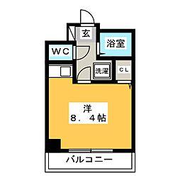 コスモメゾン・アキヤマ[4階]の間取り