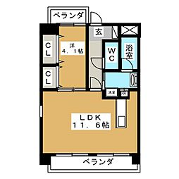 メゾン ド オーキッド[3階]の間取り