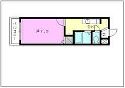 キララハイツ13[406 号室号室]の間取り